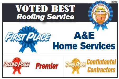 best roofer award